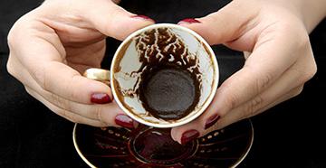 Гадание на кофейной гуще | толкование символов